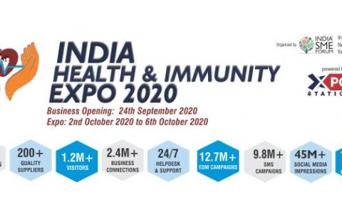 Astute Outsourcing Services Pvt Ltd participates in India Health & Immunity Expo 2020