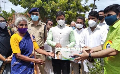 India's First Transparent NT Mask from Comofi Medtech Makes Communication & COVID-19 Swab Collection Easier
