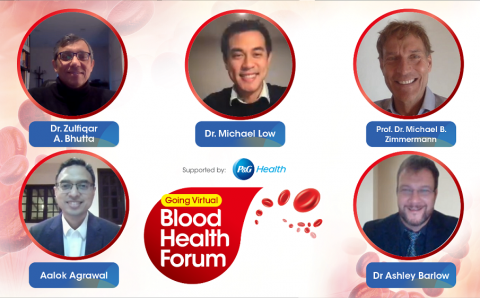 P&G Health Brings Together Leading Health Experts to Tackle Global Iron Deficiency Anemia Issue