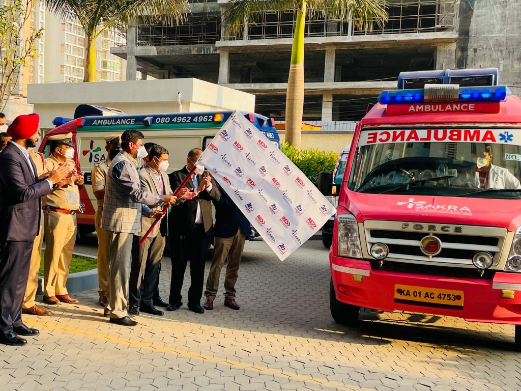 Sakra World Hospital sets up Robust Emergency Services with Stan Plus, initiates new and advanced tech-enabled Emergency services