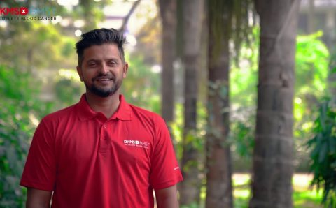 Renowned Indian international Cricketer Suresh Raina comes forward to support blood cancer patients