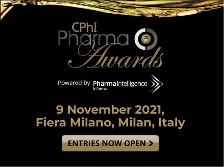 CPhI Awards 2021 Open for Entries in Incredible Year for Pharma Innovation